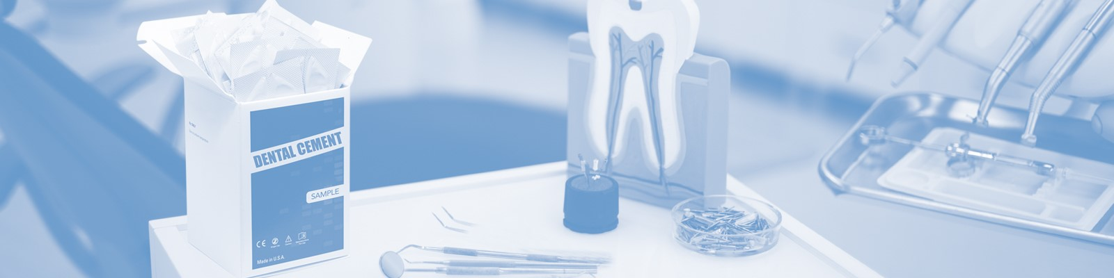 dental cement and glue packaging